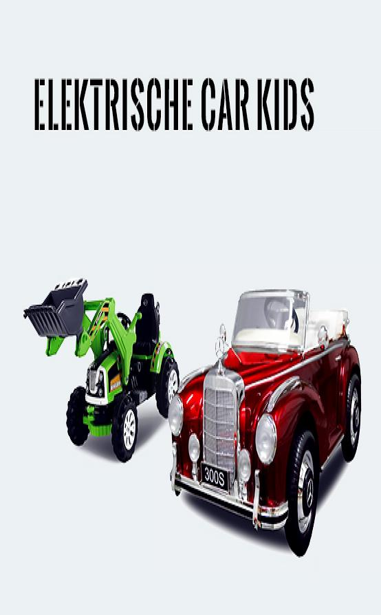 Elektrische car kids