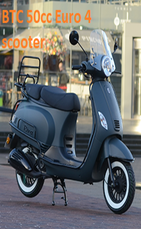 BTC euro 4 scooters