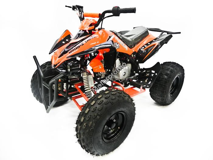 bestel kinderquad quad atv 110cc 125cc mtx zwart oranje nu voor motorpromo. Black Bedroom Furniture Sets. Home Design Ideas