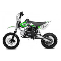 Dirtbike Pitbike 125cc 4takt Storm RS Automaat 12/14 groen