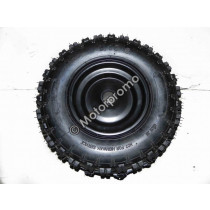 (28D1a) Band + velg voor 6 inch (4.10-6)