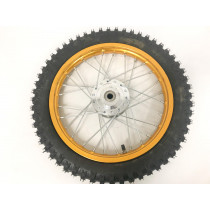 (21C2b) 14 inch velg + band 17mm asgat (voor)