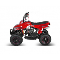Miniquad kinderquad quad atv 49cc 2takt Nitro Motors Exciter Deluxe rood