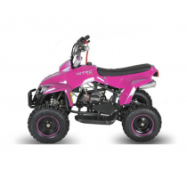 Miniquad kinderquad quad atv 49cc 2takt Nitro motors Exciter Deluxe roze