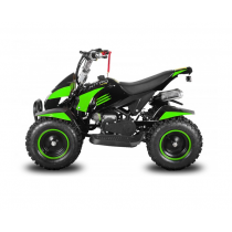 Miniquad kinderquad quad atv 49cc 2takt Nitro Motors California XL groen