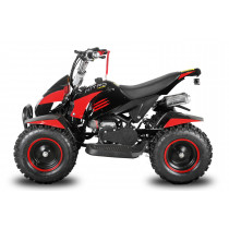 Miniquad kinderquad quad atv 49cc 2takt Nitro Motors California XL rood