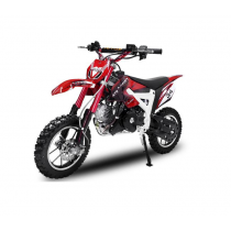 Dirtbike Pitbike 50cc 4takt Flash RS rood
