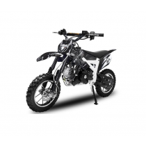 Dirtbike Pitbike 50cc 4takt Flash RS zwart