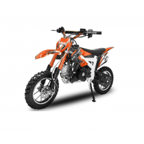 Dirtbike Pitbike 50cc 4takt Flash RS Oranje