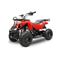 Miniquad kinderquad quad atv 49cc 2tak Nitro Motors Grizzly rood