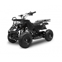 Miniquad kinderquad quad atv 49cc 2tak Nitro Motors Grizzly zwart