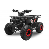 Husky RS8 Kinderquad Atv 125cc Turbo Edition - Rood