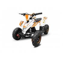 Rogue Deluxe Kinderquad 49cc 2takt - Oranje/Wit