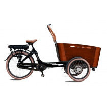 (1020112) Vogue Elektrische Bakfiets Carry 7SP. Nexus bruin